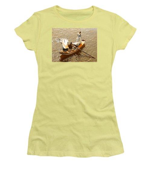 Nile River Merchants Women's T-Shirt (Junior Cut) by Joseph Hendrix
