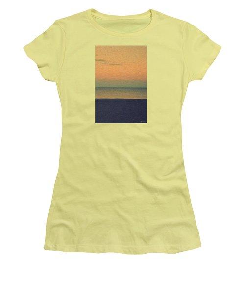 Not Quite Rothko - Breezy Twilight Women's T-Shirt (Athletic Fit)