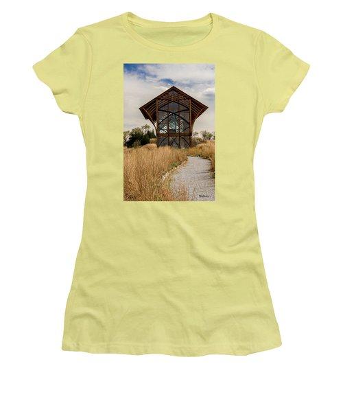 Omaha Holy Family Shrine 2 Women's T-Shirt (Athletic Fit)