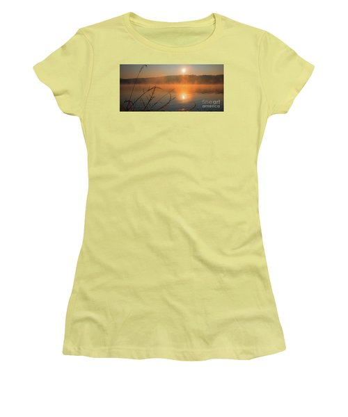 One Autumn Day At Ognyanovo Dam Women's T-Shirt (Junior Cut) by Jivko Nakev