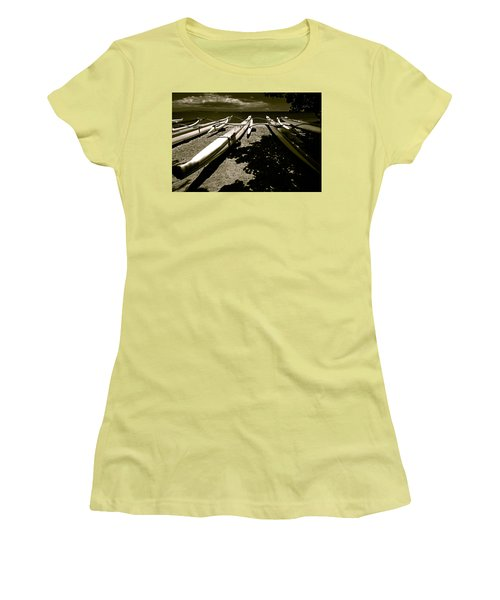 Outrigger Ocean Canoes Women's T-Shirt (Athletic Fit)