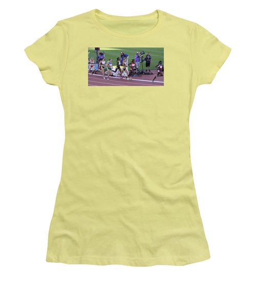 Pam Am Games. Athletics Women's T-Shirt (Athletic Fit)