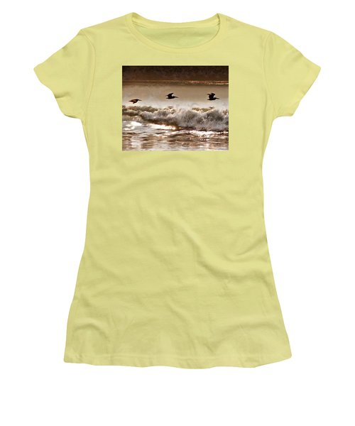 Pelican Patrol Women's T-Shirt (Athletic Fit)