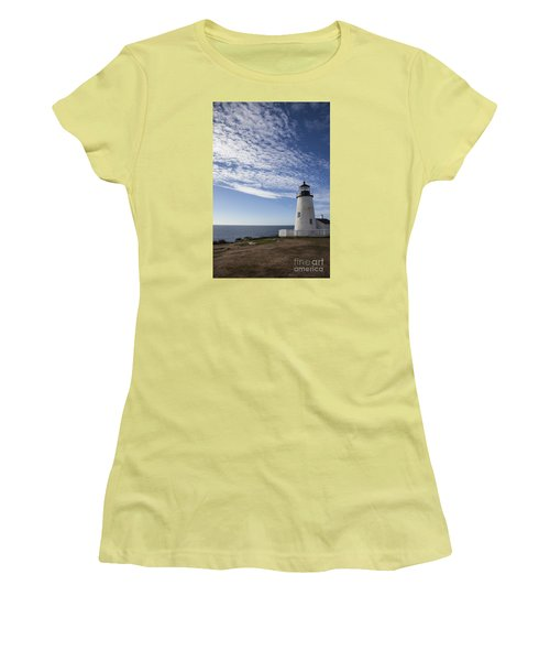 Pemaquid Lighthouse Women's T-Shirt (Athletic Fit)