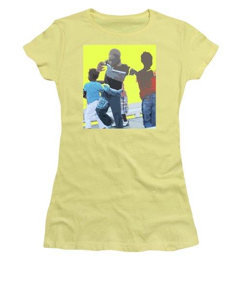 Play Women's T-Shirt (Junior Cut) by Ian  MacDonald