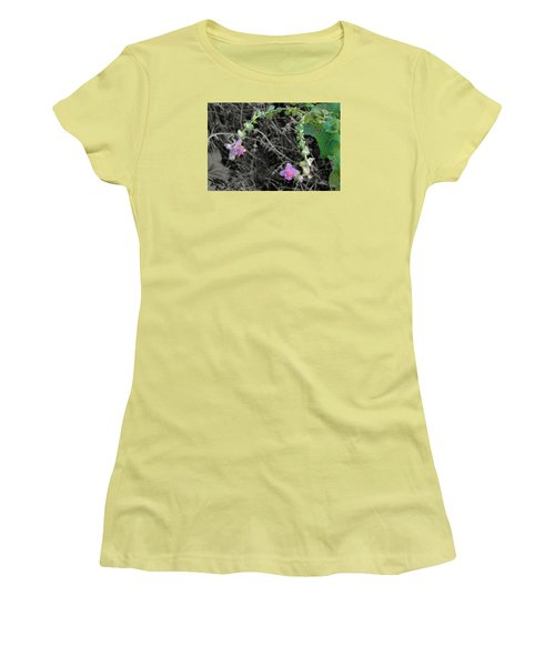 Pop Of Color  Women's T-Shirt (Junior Cut) by Deborah  Crew-Johnson