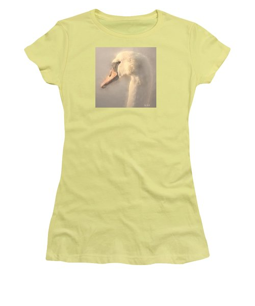 Women's T-Shirt (Junior Cut) featuring the photograph Purity by Rose-Maries Pictures