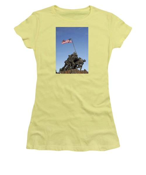 Raising The Flag On Iwo - 799 Women's T-Shirt (Junior Cut) by Paul W Faust -  Impressions of Light