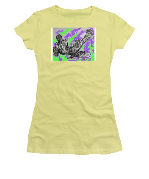 Resting Women's T-Shirt (Junior Cut) by Erika Chamberlin