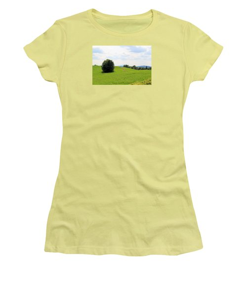 Rolling Hills Women's T-Shirt (Athletic Fit)