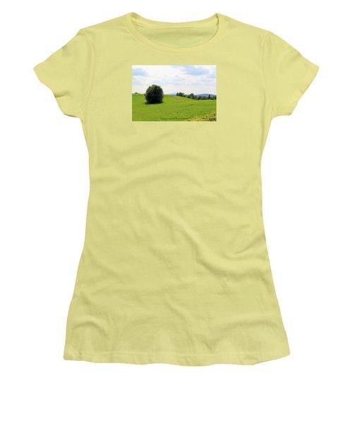 Rolling Hills Women's T-Shirt (Junior Cut)