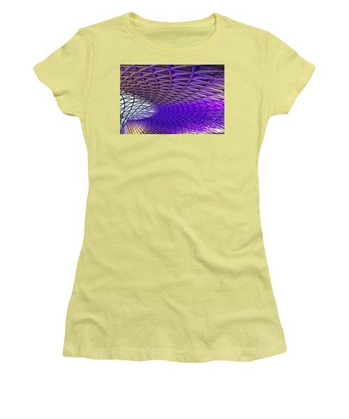 Roof Design Women's T-Shirt (Junior Cut) by Shirley Mitchell
