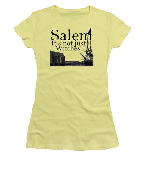 Salem Its Not Just For Witches Women's T-Shirt (Athletic Fit)