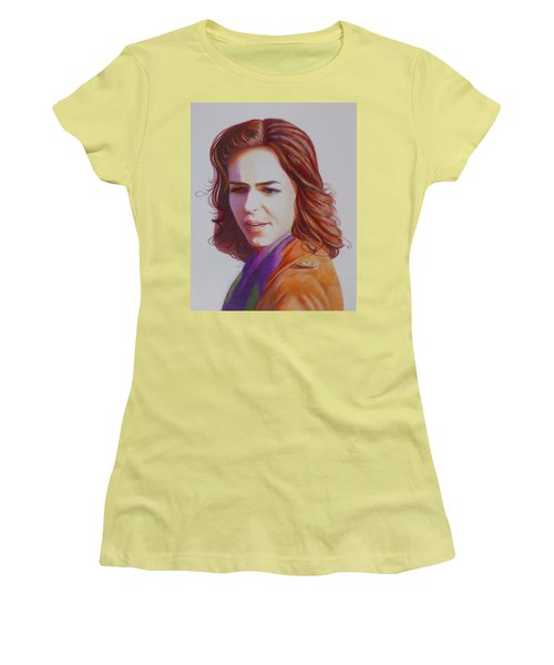 Self-portrait Women's T-Shirt (Junior Cut) by Constance DRESCHER