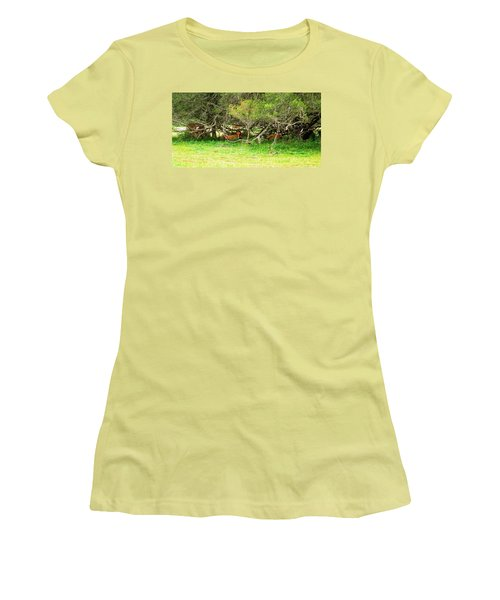 Shelter From The Sun Women's T-Shirt (Athletic Fit)