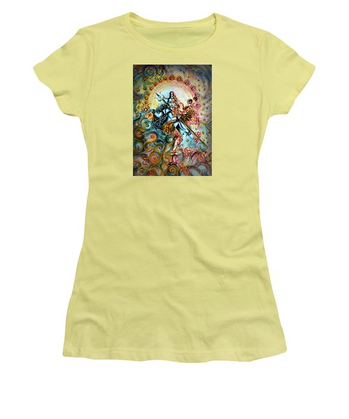 Shiva Shakti Women's T-Shirt (Junior Cut)