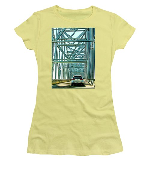Women's T-Shirt (Junior Cut) featuring the photograph Smile by Rhonda McDougall