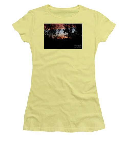 Spectacular Sky Women's T-Shirt (Junior Cut) by Anne Rodkin