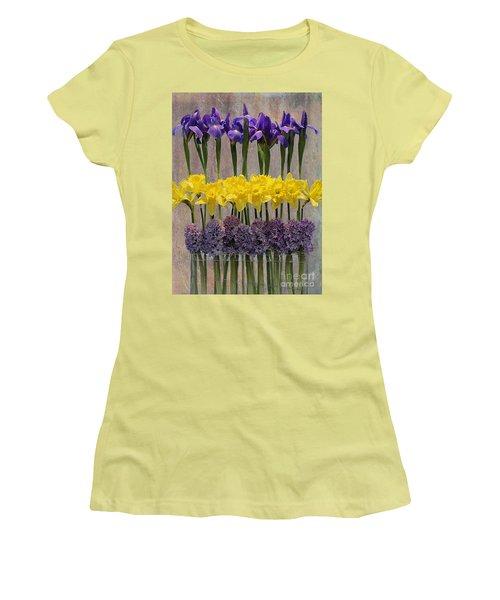 Spring Delights Women's T-Shirt (Junior Cut) by Nina Silver