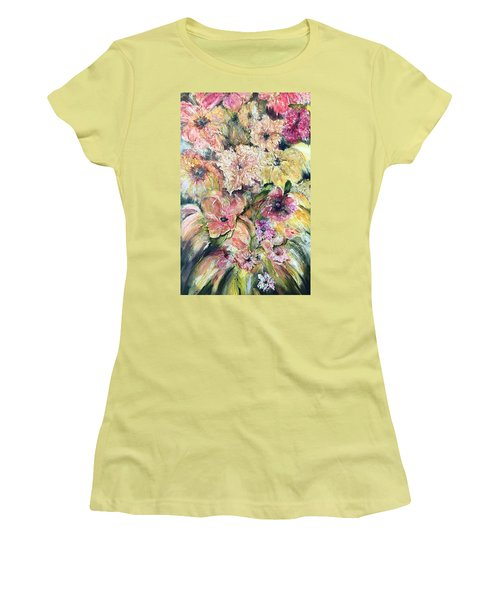 Spring Fireworks Women's T-Shirt (Athletic Fit)
