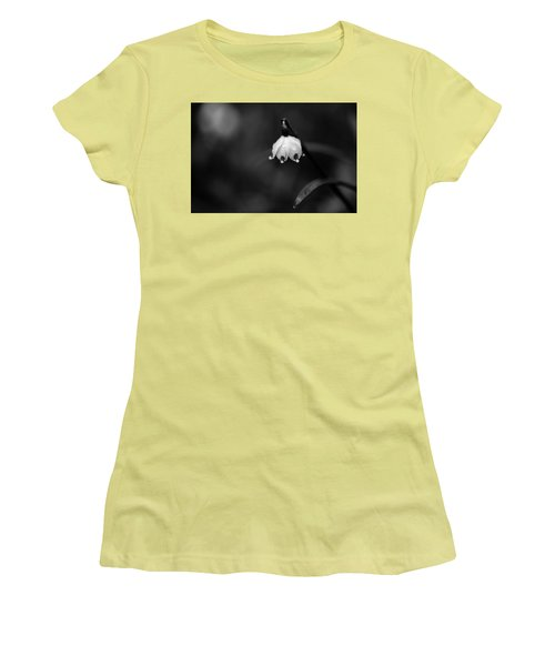 Spring Snowflake Women's T-Shirt (Junior Cut) by Andreas Levi