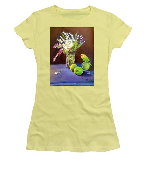 Still Life Women's T-Shirt (Junior Cut) by Rose Wang