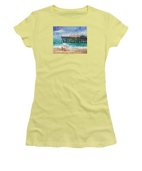Summer Sun Women's T-Shirt (Junior Cut) by Jennifer Beaudet