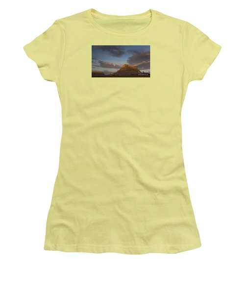 Sunrise Over Factory Butte Women's T-Shirt (Athletic Fit)