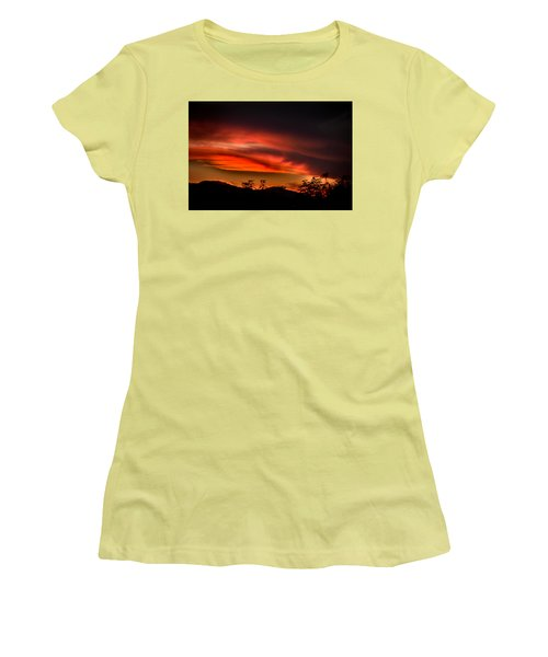 Sunset Women's T-Shirt (Junior Cut) by Alessandro Della Pietra