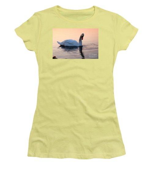 Swan Lake  Women's T-Shirt (Junior Cut) by Joe  Ng