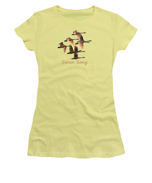 Swan Song Women's T-Shirt (Athletic Fit)