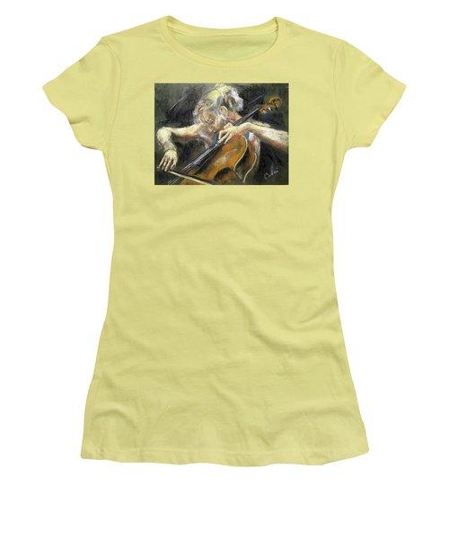 The Cellist Women's T-Shirt (Athletic Fit)