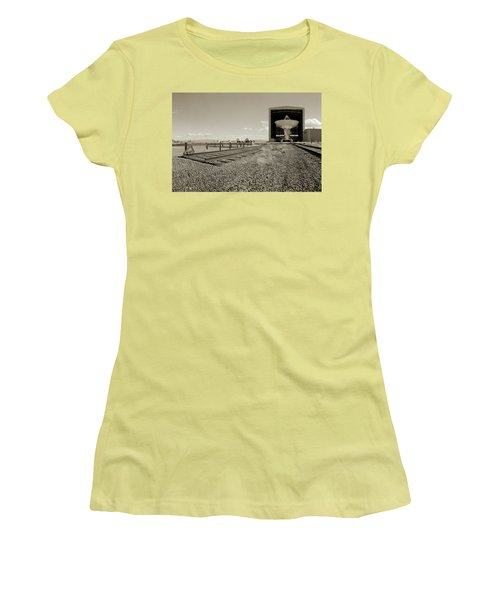 The Dish Room Women's T-Shirt (Junior Cut) by Jan W Faul
