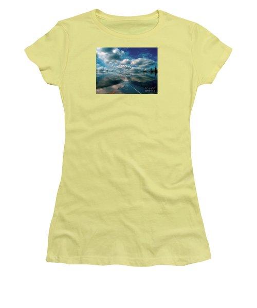 The Dream Women's T-Shirt (Junior Cut) by Elfriede Fulda