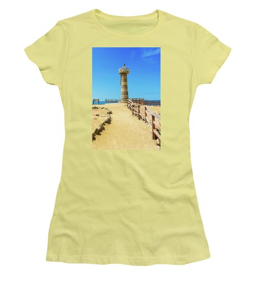 The Lighthouse In Salinas, Ecuador Women's T-Shirt (Athletic Fit)