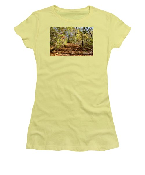 The Outlet Trail Women's T-Shirt (Junior Cut) by William Norton