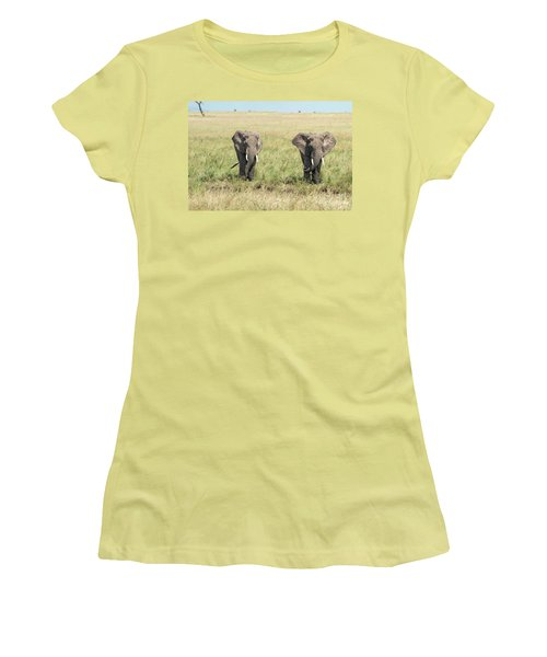 The Pair Women's T-Shirt (Athletic Fit)