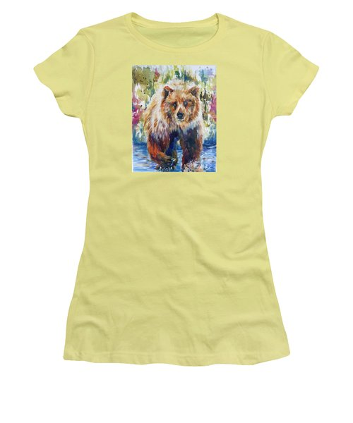 The Summer Bear Women's T-Shirt (Athletic Fit)