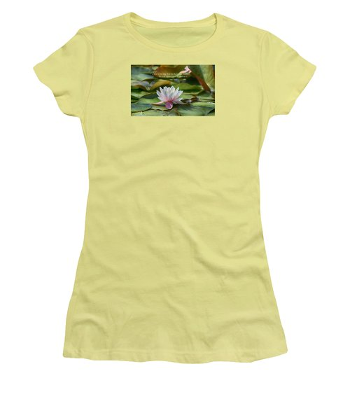 Women's T-Shirt (Junior Cut) featuring the photograph This Is The Day by Lynn Hopwood