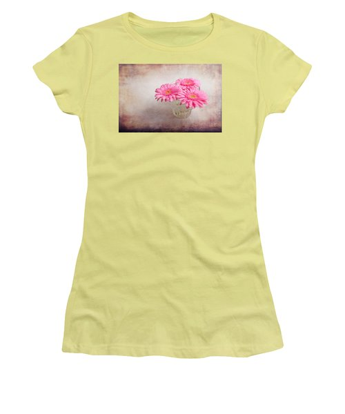 Three Of Us Women's T-Shirt (Junior Cut) by Randi Grace Nilsberg