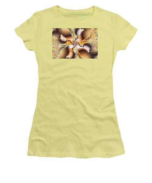Toffee Pull Women's T-Shirt (Junior Cut) by Jim Pavelle
