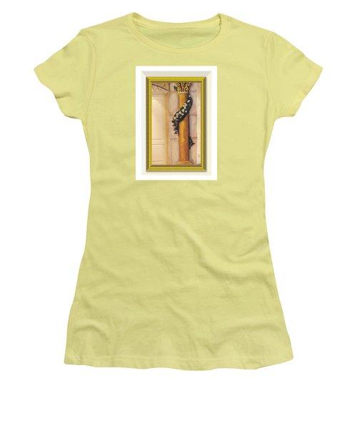 Trompe L'oeil Column Women's T-Shirt (Athletic Fit)