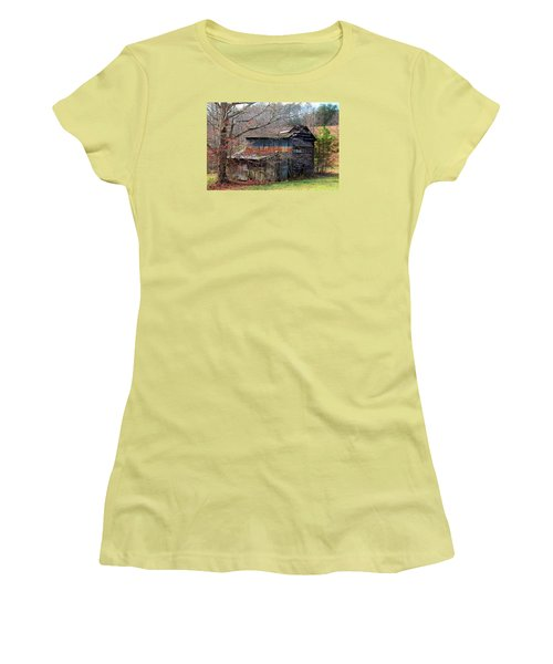Tumbledown Barn Women's T-Shirt (Athletic Fit)