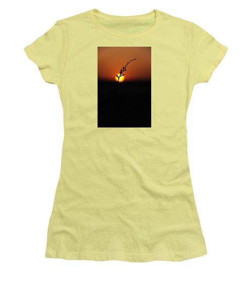 Women's T-Shirt (Junior Cut) featuring the photograph Tumpak by Jez C Self