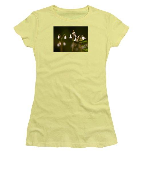 Twinflower Women's T-Shirt (Junior Cut) by Jouko Lehto