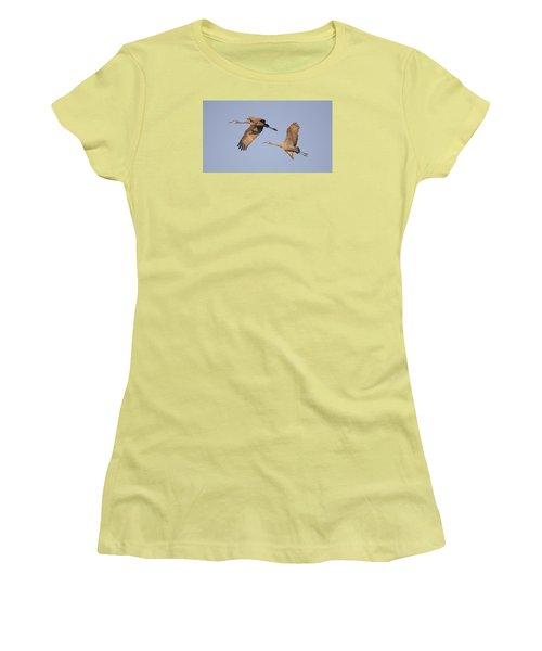 Two Together Women's T-Shirt (Junior Cut) by Wanda Krack