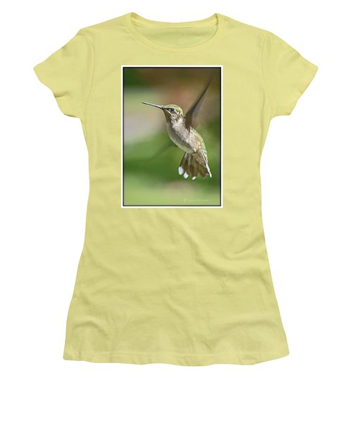 Untitled Hum_bird_five Women's T-Shirt (Athletic Fit)