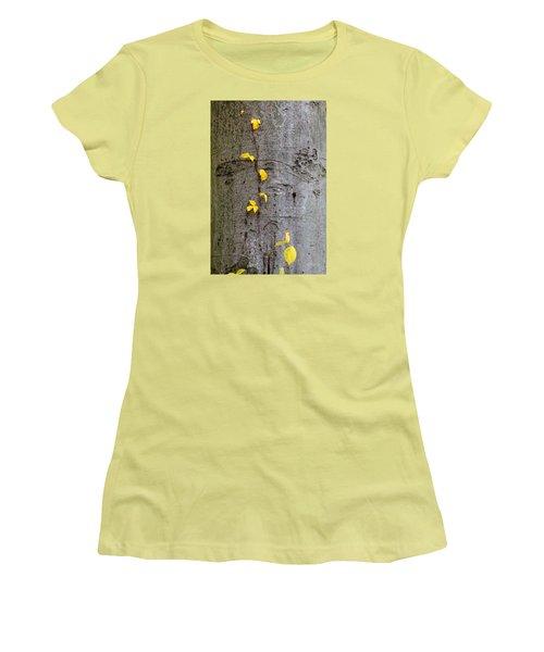 Vine Climber Women's T-Shirt (Junior Cut) by Deborah  Crew-Johnson
