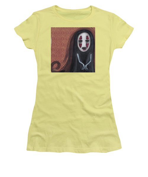 Waiting  Women's T-Shirt (Junior Cut) by Abril Andrade Griffith