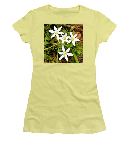 Wild Flowers Women's T-Shirt (Athletic Fit)